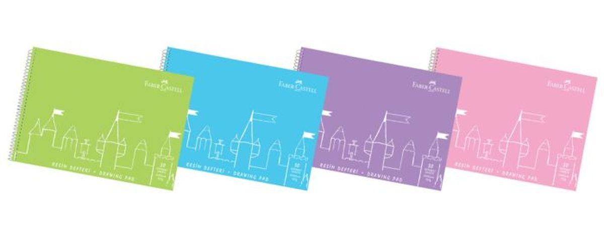 Faber-Castell Блокнот для рисования формат А4 30 листов400036Блокнот для рисования Faber-Castell идеален для рисунков, эскизов или заметок. Внутренний блок на спирали состоит из 30 листов бумаги формата А4. 15 листов с микроперфорацией для удобного отрыва. Обложка выполнена из цветного гибкого пластика. Уважаемые клиенты! Обращаем ваше внимание на цветовой ассортимент обложки.