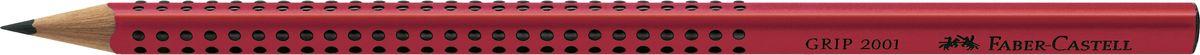 Faber-Castell Карандаш чернографитный Grip 2001 твердость B цвет красный