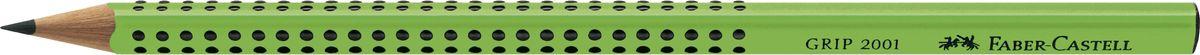 Faber-Castell Карандаш чернографитный Grip 2001 твердость B цвет зеленый