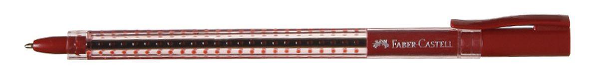 Faber-Castell Ручка шариковая Grip 2020 цвет красный544521Шариковая ручка Faber-Castell Grip 2020 эргономичной трехгранной формы станет незаменимым атрибутом учебы или работы. Прозрачный корпус ручки выполнен из пластика и соответствует цвету чернил. Запатентованная антискользящая зона захвата дополнена малыми массажными шашечками. Высококачественные чернила позволяют добиться идеальной плавности письма. Ручка оснащена упругим клипом для удобной фиксации на бумаге или одежде.
