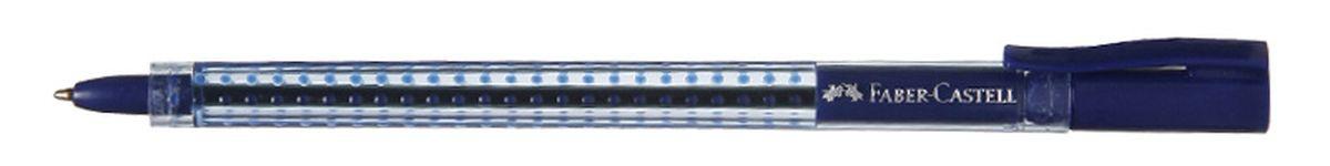 Faber-Castell Ручка шариковая Grip 2020 цвет синий544551Шариковая ручка Faber-Castell Grip 2020 эргономичной трехгранной формы станет незаменимым атрибутом учебы или работы. Прозрачный корпус ручки выполнен из пластика и соответствует цвету чернил. Запатентованная антискользящая зона захвата дополнена малыми массажными шашечками. Высококачественные чернила позволяют добиться идеальной плавности письма. Ручка оснащена упругим клипом для удобной фиксации на бумаге или одежде.