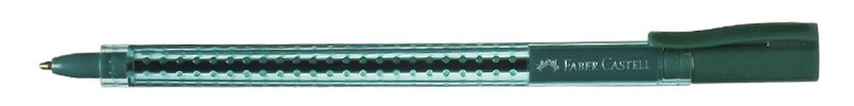 Faber-Castell Ручка шариковая Grip 2020 цвет зеленый544563Шариковая ручка Faber-Castell Grip 2020 эргономичной трехгранной формы станет незаменимым атрибутом учебы или работы. Прозрачный корпус ручки выполнен из пластика и соответствует цвету чернил. Запатентованная антискользящая зона захвата дополнена малыми массажными шашечками. Высококачественные чернила позволяют добиться идеальной плавности письма. Ручка оснащена упругим клипом для удобной фиксации на бумаге или одежде.