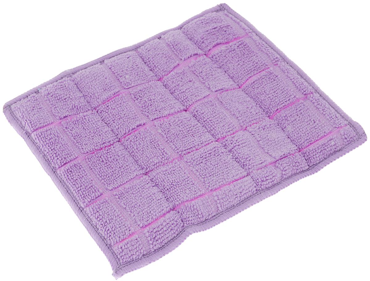 Салфетка для стеклокерамики Хозяюшка Мила, цвет: серебристый, красный, фиолетовый, 23 х 17 см. 0402404024-150_серебристый, красный, фиолетовыйСалфетка для стеклокерамики Хозяюшка Мила предназначена для очистки стеклокерамики от пыли, пятен, жира, копоти, а также для полировки и придания блеска без царапин. Для бережного ухода и качественной очистки салфетка является двусторонней и обладает двойным действием. Шероховатая сторона салфетки разработана для качественной очистки поверхности плиты от загрязнений. Гладкая сторона салфетки полирует поверхность, придавая ей блеск. Материал: 80% полиэстер, 20% полиамид. Размер салфетки: 23 х 17 см.