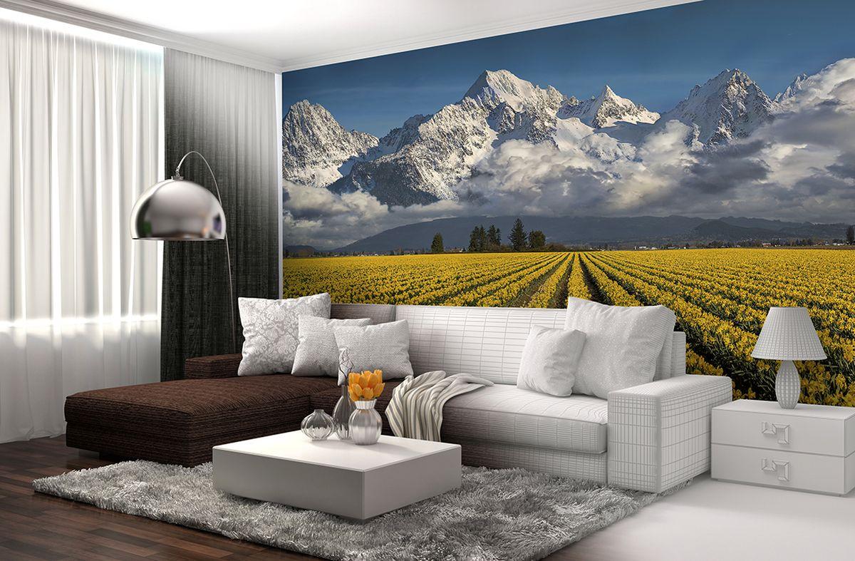 Фотообои PosterMarket Небо и нарциссы, размер 254 х 184WM-24Нежный и ароматный нарцисс многие столетия считался символом красоты у многих народом мира.