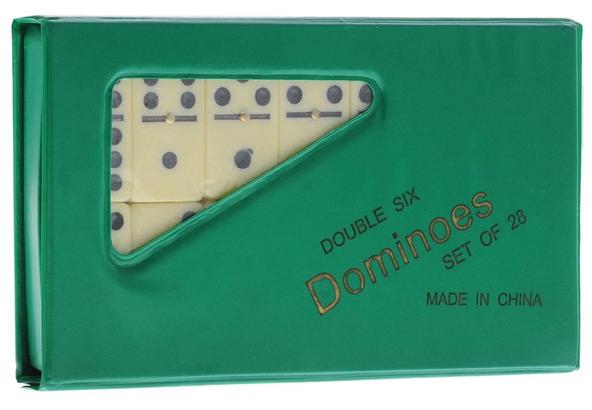 Игра настольная Perfecto Домино, цвет зеленыйD-5010L_зеленыйДомино Perfecto содержит 28 игральных костей, выполненных из пластика. Предметы набора упакованы в пластиковый чехол на кнопке. Домино - самая популярная народная игра. Игра в домино развивает интуицию, логическое мышление, пространственное воображение, внимание, комбинаторные способности, зрительную память, сообразительность, смекалку. Также игра учит терпению, последовательности, аккуратности и точности, умению анализировать, помогает поддерживать мозг в тонусе, при этом весело проводя время. Домино - оригинальный подарок, который можно подарить каждому, независимо от ситуации и возраста.