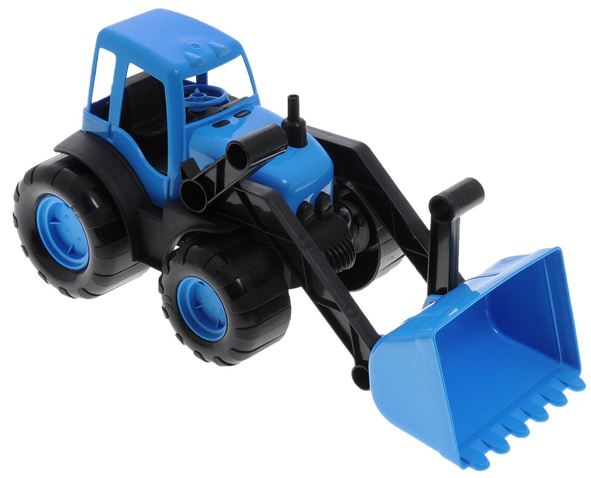 Zebratoys Трактор с ковшом15-10176Трактор с ковшом Zebratoys привлечет внимание вашего ребенка и станет его любимой игрушкой. Изделие выполнено из безопасного материала. Трактор снабжен подвижным поднимающимся ковшом и большими устойчивыми колесами со свободным ходом. При помощи ковша можно сгребать песок или другие сыпучие материалы. Ковш легко поднимается и опускается. Ваш маленький строитель увлеченно будет играть с таким трактором, придумывая различные истории. Порадуйте его таким замечательным подарком! Уважаемые клиенты! Обращаем ваше внимание на ассортимент в цвете товара. Поставка возможна в одном из вариантов нижеприведенных цветов, в зависимости от наличия на складе.