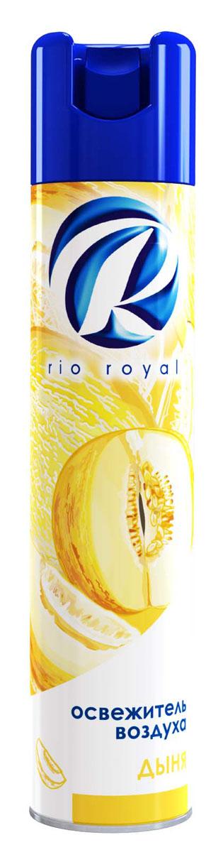 Освежитель воздуха Rio Royal Дыня, 300 мл29758Освежитель воздуха «Рио ройял» предназначен для устранения неприятных запахов в различных помещениях. Обладает длительным действием, надолго наполняя ваш дом благоухающими ароматами.