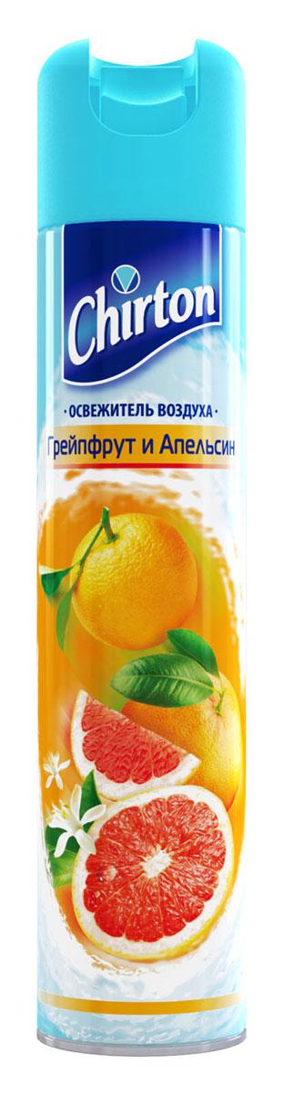 Освежитель воздуха Chirton Грейпфрут и Апельсин, 300 мл30389Чиртон представляет новейшую серию освежителей для вашего дома с его незабываемыми ароматами на любой вкус. Высокое качество позволит быстро избавиться от неприятных запахов в любом уголке вашего дома. Легко устраняет неприятные запахи, надолго наполняя дом неповторимыми нежными ароматами.