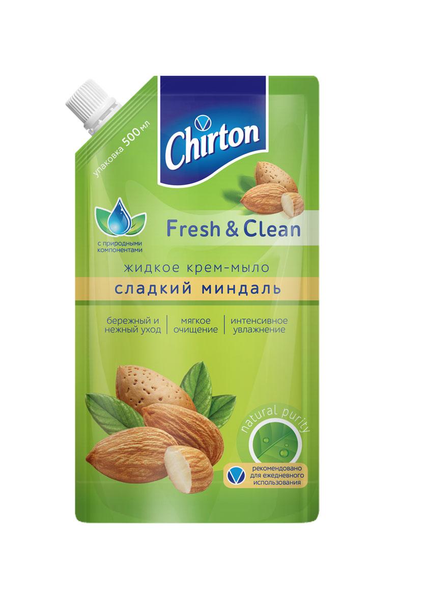 Жидкое крем-мыло Chirton Сладкий миндаль , 500 мл