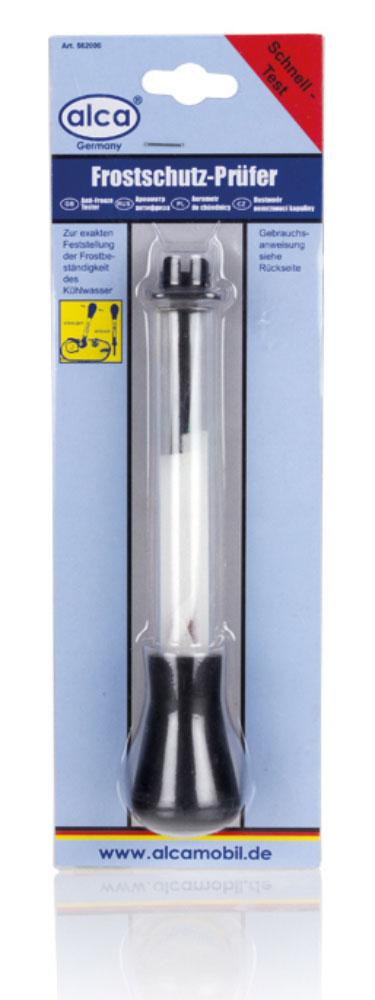 Ареометр для антифриза Alca562000Ареометр для антифриза Alca позволяет контролировать качество антифриза в системе охлаждения. Для бесперебойной работы двигателя этот показатель должен соответствовать нормам. На вид ареометр представляет собой запаянную с обеих сторон стеклянную колбу с расширенной нижней частью и узкой верхней. В самом низу находится так называемый балласт (чаще всего дробь), который заставляет ареометр, помещенный в жидкость, выполнять роль поплавка. Верхняя часть колбы имеет деления, на основании которых фиксируются показания прибора. У охлаждающей жидкости две функции. Первая и основная - охлаждение силового агрегата, вторая - обогрев автомобильного салона. Естественно, несоответствие антифриза стандартам может грозить повышением температуры двигателя до полного его заклинивания, и серьезным дискомфортом для водителя и пассажиров. В число неприятностей, которые может доставить некачественный антифриз, можно отнести также: уменьшение срока службы двигателя, повышение расхода...