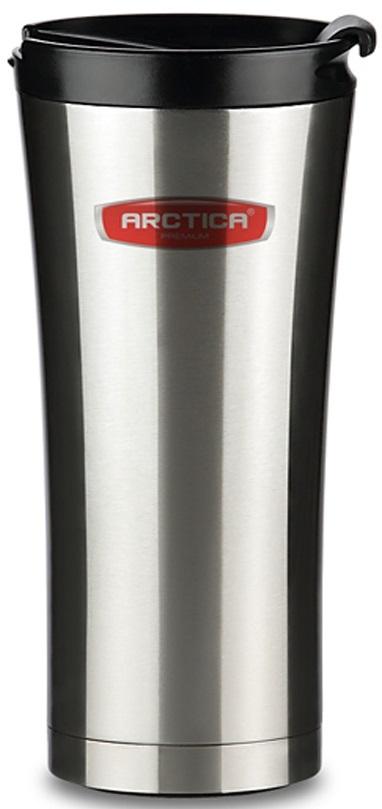 Автомобильная термокружка Арктика, цвет: черный, 0,5 л410-500 автокружка-термосТермос-кружка автомобильная. Объем 500 мл