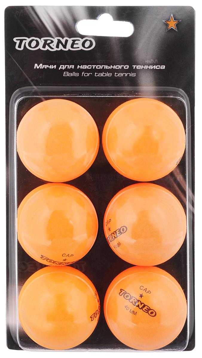 Набор мячей для настольного тенниса Torneo, 6 штTI-BOR200Набор для настольного тенниса Torneo состоит из 6 мячей, выполненных из целлулоида. Такие мячи идеально подойдут для всех любителей игры. Набор соответствует всем заявленным стандартам, предъявляемым на соревнованиях к данному виду изделиям. Материал: целлулоид. Диаметр 4 см. Вес меча: 2,7 г.