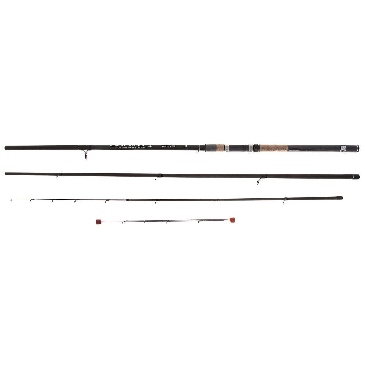 Спиннинг Zhibo Bravo Feeder, 3,6 м1083297Спиннинг ZHIBO Bravo Feeder 3.6м (3+3) 120г 2439032 (D34) Надежный, среднего строя фидер. Рекомендуется для широкого круга рыболовов.