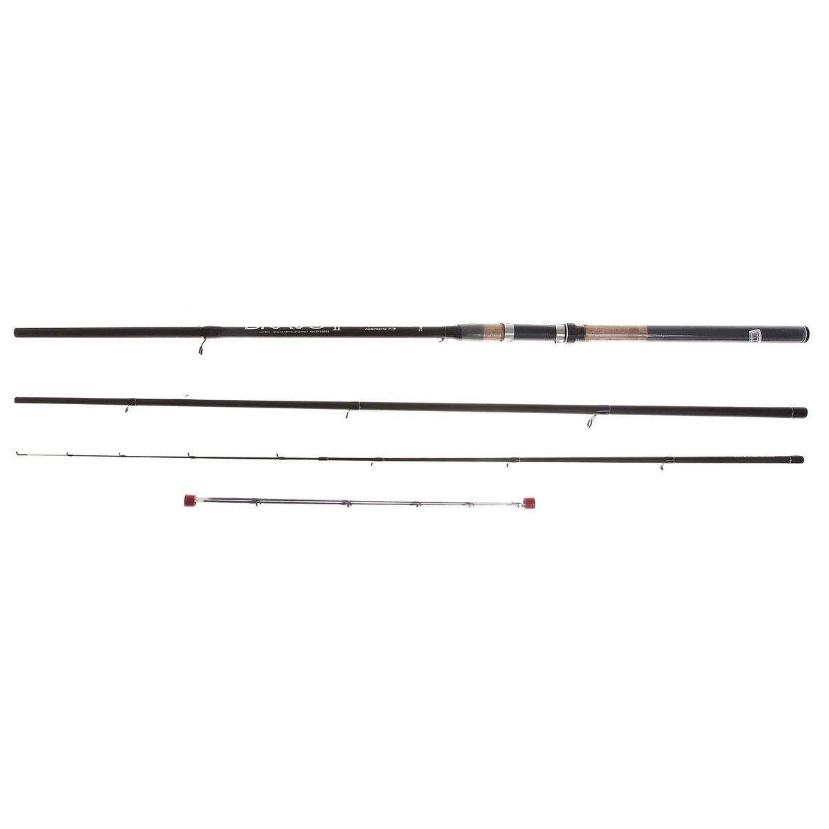 Спиннинг Zhibo Bravo Feeder, 3,6 м1083303Спиннинг ZHIBO Bravo Feeder 3.6м (3+3) 90г 2439031 (D30) Надежный, среднего строя фидер. Рекомендуется для широкого круга рыболовов.