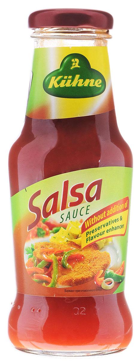 Kuhne Spicy Sauce Salsa соус томатный сальса, 250 г
