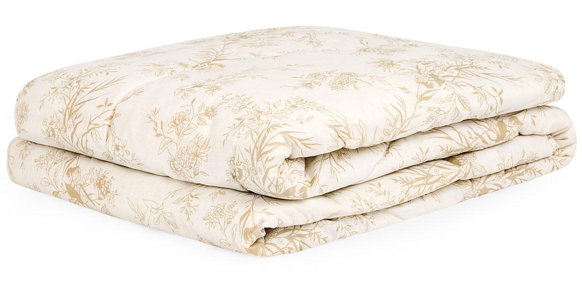 Одеяло ХЛОПОК-натурэль, 200х21020.04.15.0094Одеяло Хлопок-натурэль из коллекции Classic. Состав: чехол - 100% поликоттон; наполнитель – 60% хлопковое волокно, 40% полиэфирное волокно. Детали: одеяло стеганое, классический крой, эксклюзивный принт, кант. Цвет: экрю. Размер: 200x210. 1 предмет. Уход: Рекомендуется чистить в соответствии с символами, указанными на лейбле. Периодически проветривайте изделие на свежем воздухе в сухую солнечную погоду. Сушите в расправленном виде на горизонтальной поверхности. Для длительного хранения и транспортировки используйте упаковку, в которой изделие находилось при покупке. Одеяло Хлопок-натурэль - обязательный элемент домашнего комфорта. Легкое, универсальное, оно подойдет для использования в любое время года благодаря природным свойствам натурального наполнителя - прочного, дышащего хлопокового волокна. Оно 90% состоит из целлюлозы, поэтому обладает исключительной способностью впитывать и испарять влагу, а также высокой теплопроводимостью. Все это обеспечивает гигиеничность...