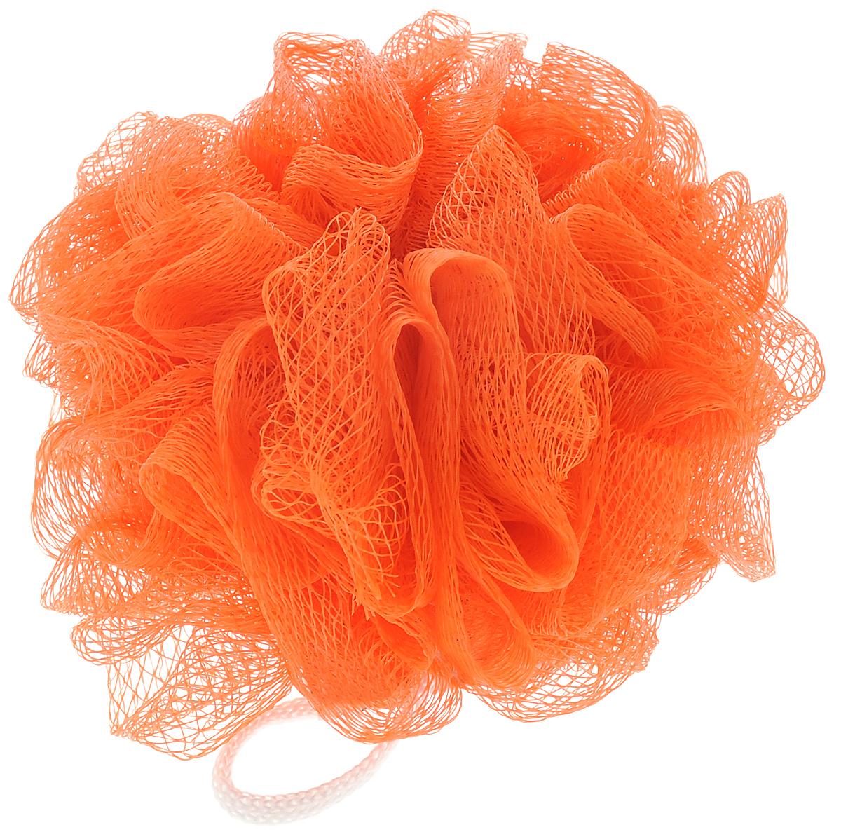 Мочалка Eva Бантик, цвет: оранжевый, диаметр 11 смМС45_оранжевыйМочалка Eva Бантик, выполненная из нейлона, предназначена для мягкого очищения кожи. Она станет незаменимым аксессуаром ванной комнаты. Мочалка отлично пенится, обладает легким массажным воздействием, идеально подходит для нежной и чувствительной кожи. На мочалке имеется удобная петля для подвешивания. Диаметр: 11 см.