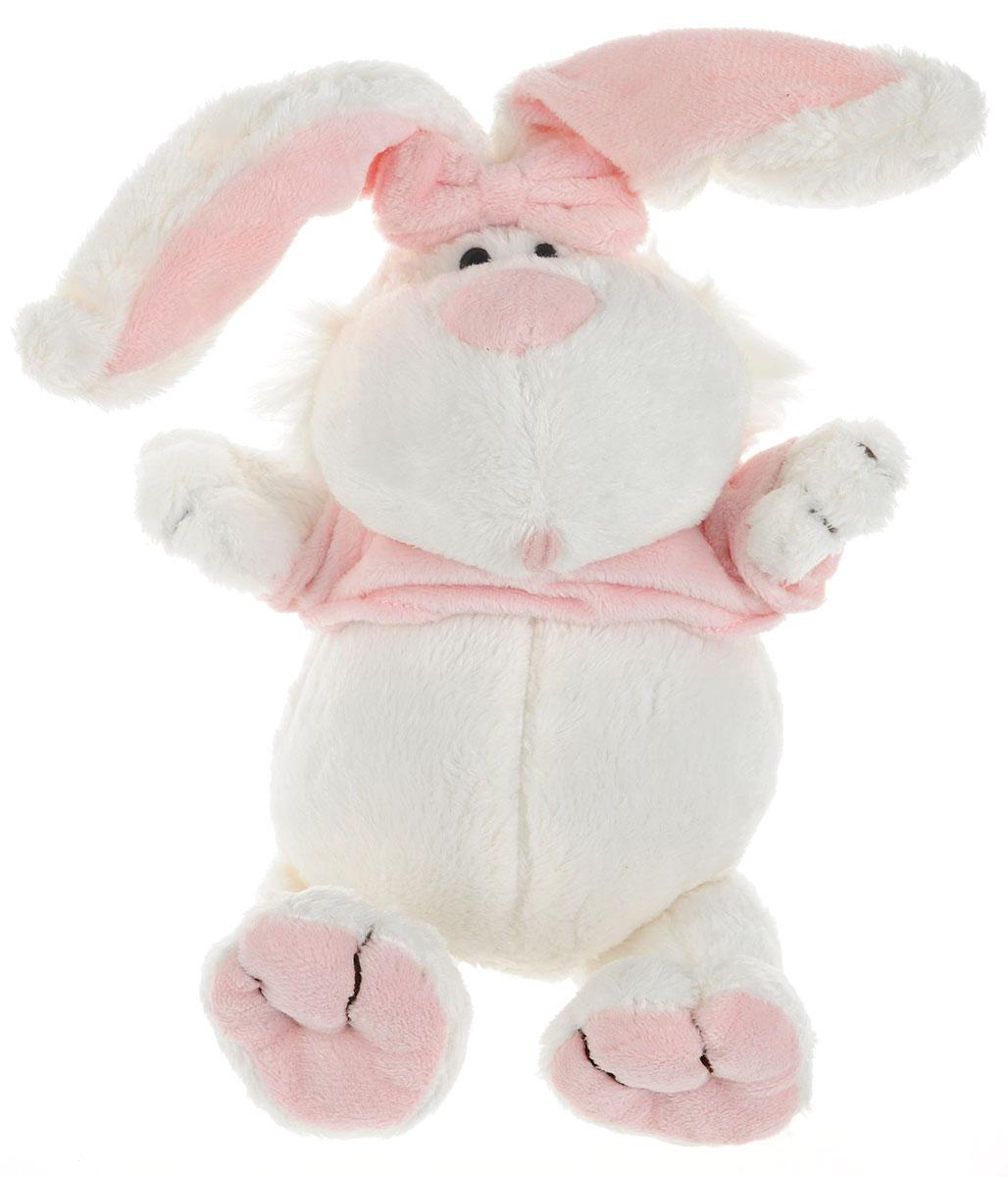 Gulliver Мягкая игрушка Кролик 23 см7-42227Мягкая игрушка Gulliver Кролик - белоснежный питомец, который способен оживить скучные будни малыша. Кролик очень мягкий и практически невесомый, что позволит с ним никогда не расставаться. У кролика забавная мордочка и добрые глаза, благодаря чему он войдет в доверие малыша, который будет с ним делиться своими самыми сокровенными тайнами. В процессе игры малыши фантазируют, образно мыслят, у детей развивается моторика рук и тактильное восприятие, поднимается настроение. Мягкие игрушки Gulliver действуют позитивно на растущий детский организм, обучая ласке и доброте, стимулируют зрительное восприятие.