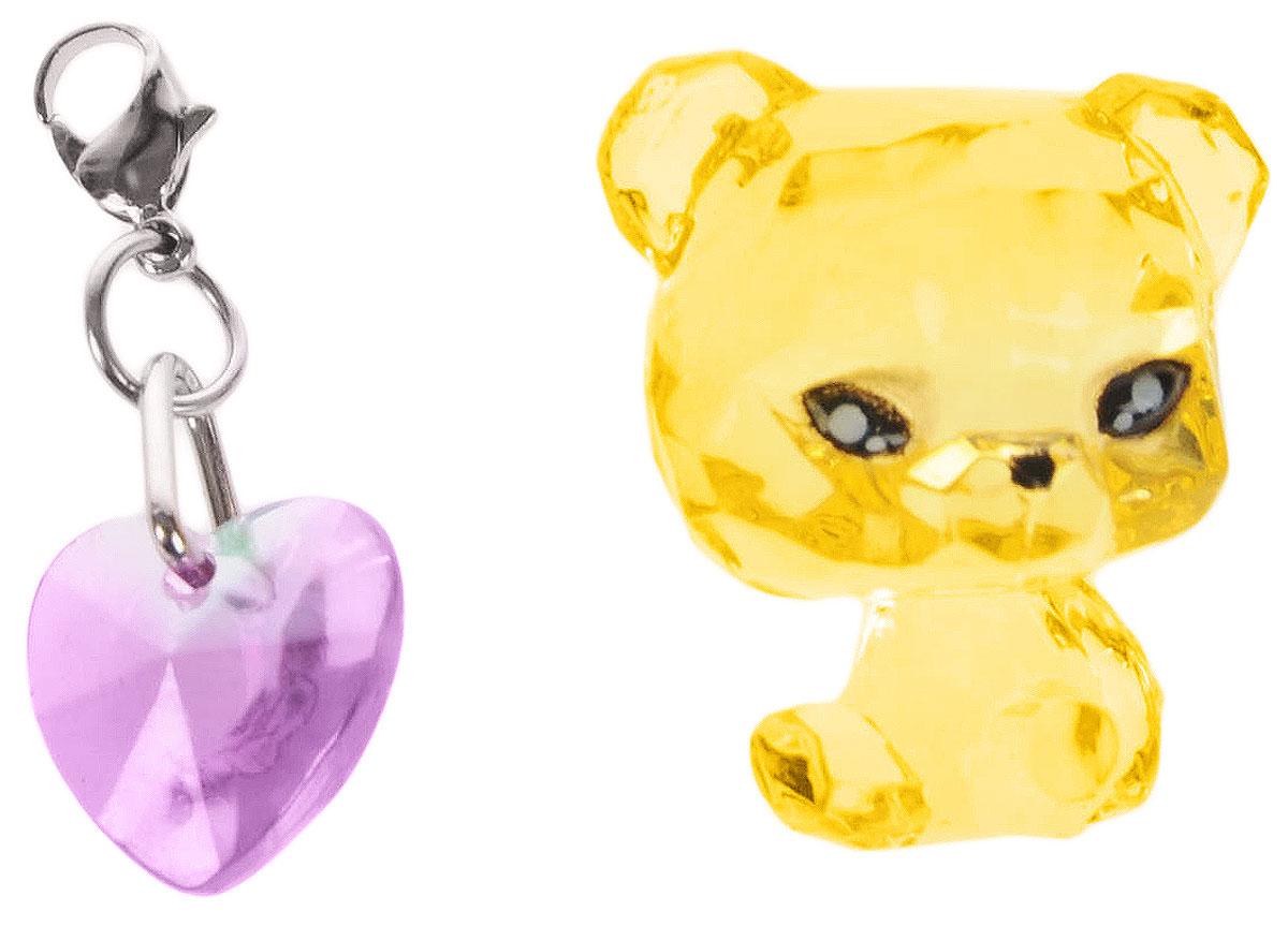 Crystal Surprise Фигурка Панда Twinkles цвет желтый45706_желтыйСамые искристые, самые сияющие малютки-зверюшки собрались здесь, чтобы принести вам удачу! Когда на небе встает солнце вдогонку тающей луне, появляются зверьки Crystal Surprise. Возьмите их в руку - и почувствуете, как они приносят удачу. У каждого зверька Crystal Surprise есть свое предназначение, каждый из них станет вашим талисманом. Носите, дарите их. Соберите их всех, чтобы умножить их магические способности! Предназначение фигурки Crystal Surprise Панда Twinkles - мир. Благодаря этой панде вокруг вас всегда будет мир, а вы будете повсюду нести за собой веселье. Девиз талисмана: Я мир приношу, я от счастья сияю, и радостным светом ваш путь озаряю! В набор также входит подвеска на удачу!