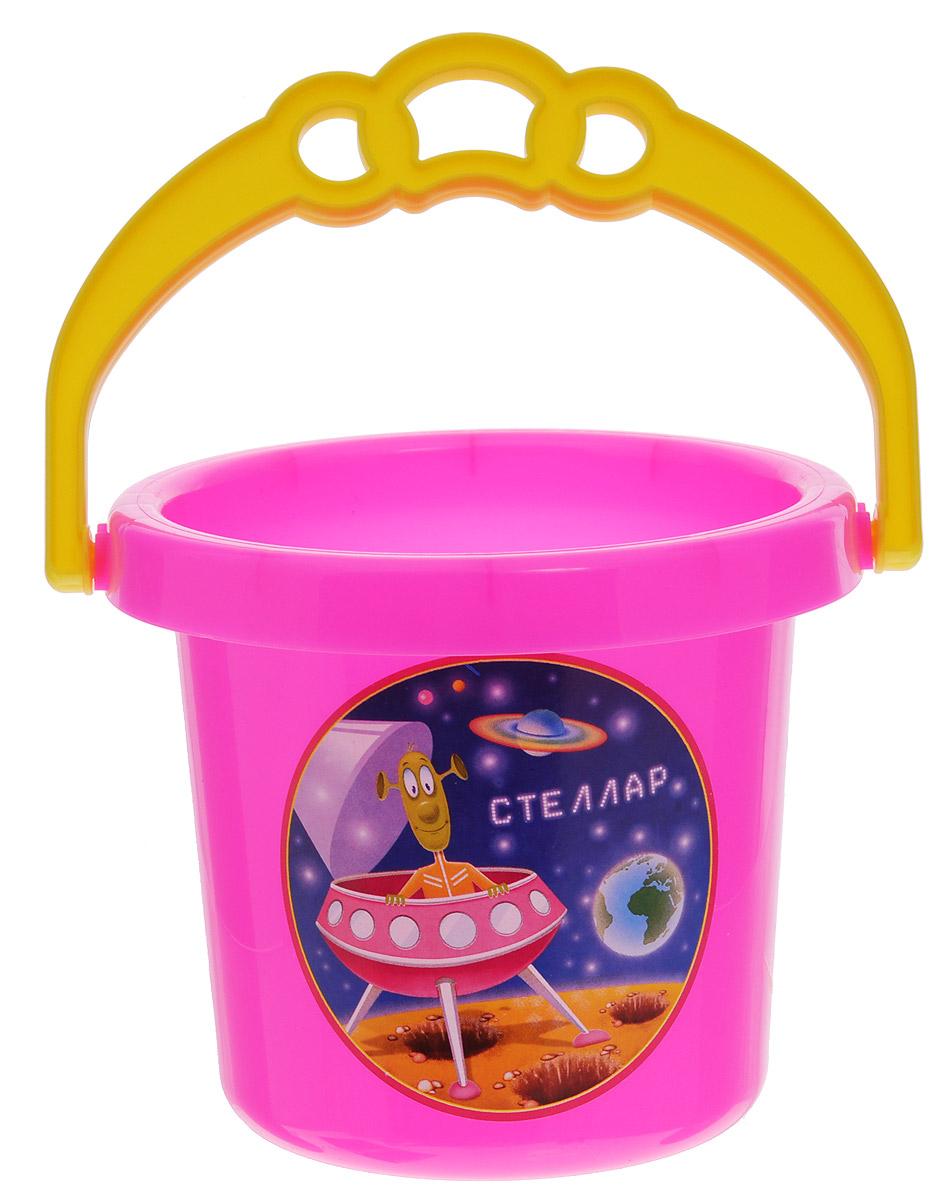 Stellar Ведро цвет розовый 0,8 л1219_розовыйДетское ведерко Stellar привлечет внимание вашего ребенка и станет незаменимым аксессуаром его игр в песочнице. Ведро выполнено из безопасного материала и декорировано наклейкой с ярким рисунком. С помощью него ребенок сможет переносить песок и воду, лепить замки и многое другое. С таким ведерком игры на свежем воздухе принесут вашему малышу одно удовольствие! Объем ведра: 0,8 л.