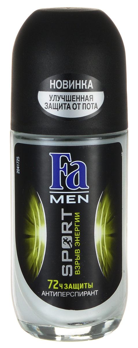 FA MEN Дезодорант роликовый Sport Double Power, 50 мл