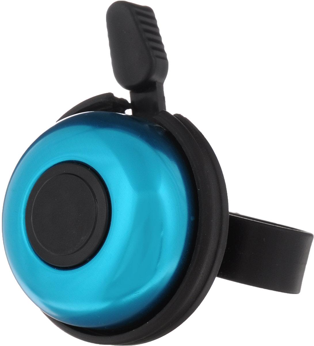 Звонок велосипедный Cyclotech, цвет: синий, черныйCR-1BЗвонок Cyclotech крепится на руле велосипеда и позволяет привлечь внимание в опасных ситуациях. Он выполнен из высокопрочных материалов, долговечен в использовании. Основным его назначением является предотвращения столкновения, как на дорогах общего пользования, так и на тротуарах. Диаметр звонка: 5,5 см.