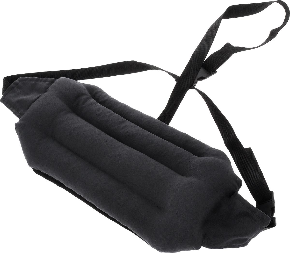 Подушка под спину Smart Textile Офис, наполнитель: лузга гречихи, 40 х 20 смT511Подушка под спину Smart Textile Офис предназначена для людей, которые много времени проводят сидя на стуле или офисном кресле. Конструкция подушки выполнена таким образом, чтобы поясничная зона чувствовала себя максимально комфортно. Поддерживается естественный изгиб позвоночника, что способствует профилактике остеохондроза, уменьшается боль в пояснице. Можно регулировать объем подушки, подгоняя ее под свои анатомические изгибы поясницы. Удобные завязки позволяют регулировать ее положение на любом кресле. Подушка заполнена лепестками гречишной лузги, которая обладает множеством полезных качеств: - Хорошо проветривается. - Предупреждает потение. - Поддерживает комфортную температуру. - Обминается по форме тела. - Обеспечивает микромассаж. - Улучшает кровообращение. - Исключает затечные явления. Подушка также будет полезна и дома - при работе за компьютером, школьникам - при выполнении домашних работ. ...
