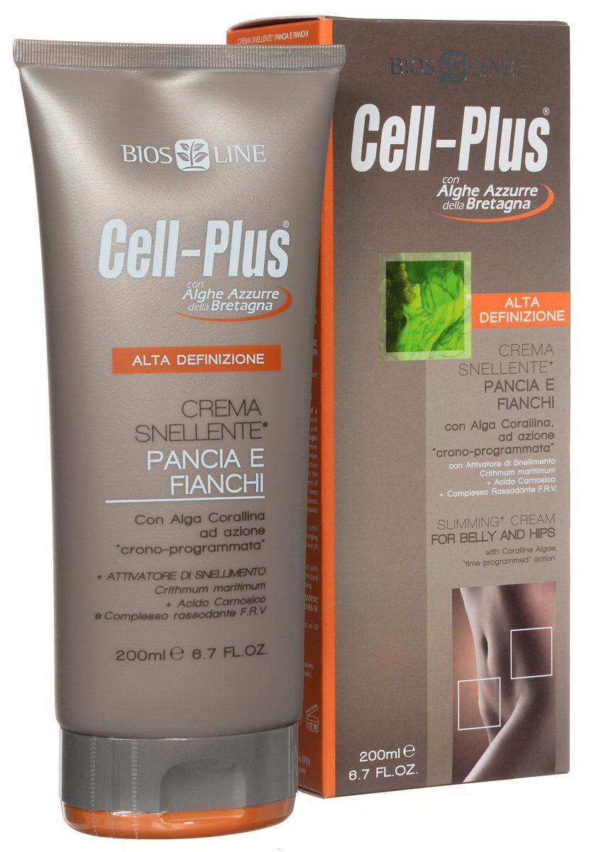 """Крем """"Cell-Plus"""" для похудения в области живота и бедер, 200 мл"""