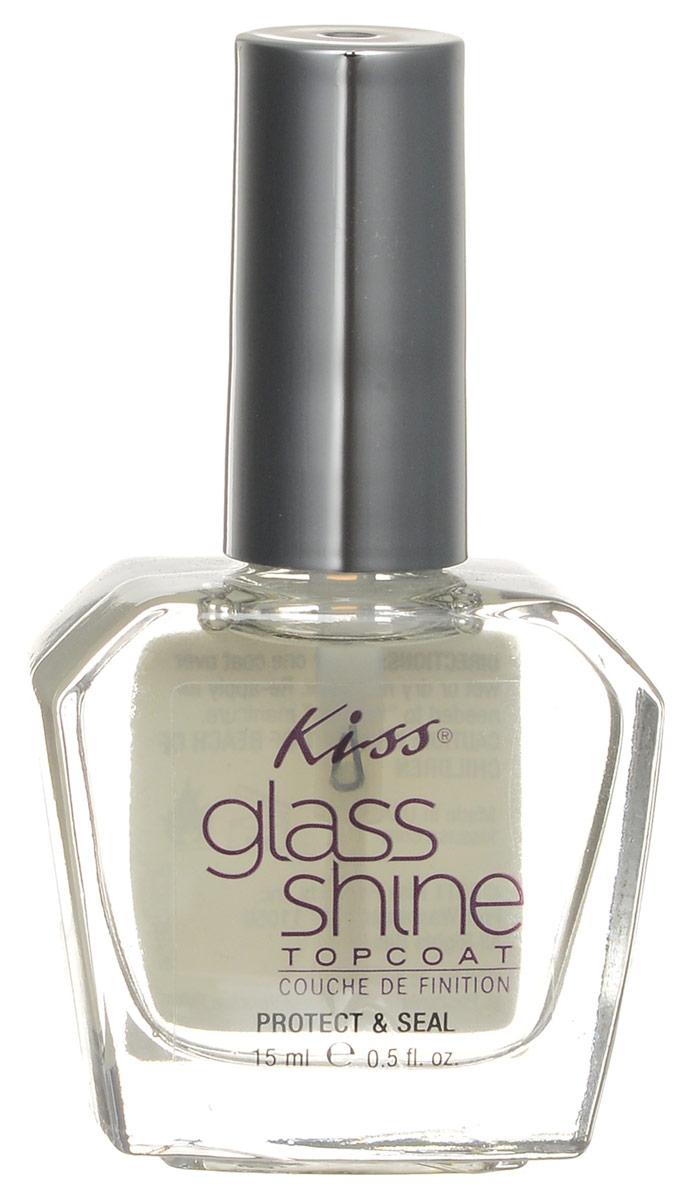 Фиксатор лака Kiss Glass Shine c эффектом блеска, 15 мл14-1313Фиксатор лака Kiss Glass Shine c эффектом блеска продлевает стойкость вашего маникюра и придает ему сияющий неповторимый блеск. Фиксатор лака закрепляет ваш маникюр, создавая единый защитный слой. Препятствует потере влаги и защищает маникюр от сколов. К лаку прилагается 6 наклеек для Nail Arta. Наклейки выполнены в виде цветов розового цвета со стразами.