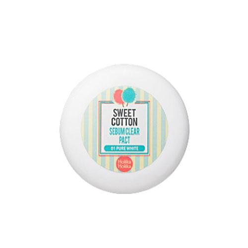 Holika Holika Компактная пудра для жирной кожи Sweet Cotton Pore, цвет: бежевый, 11 млУТ000001730Пудра уменьшает выработку сального жира, придает коже мягкость, гладкость.