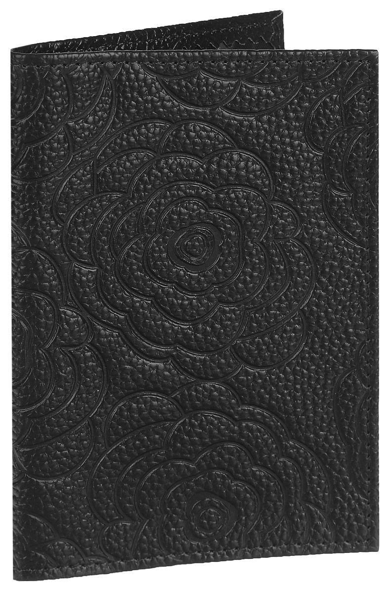 Обложка для паспорта Cheribags, цвет: черный. ОР-10ОР-10 розаСтильная обложка для паспорта Cheribags изготовлена из натуральной кожи с фактурным тиснением и оформлена цветочным тиснением. Обложка для паспорта поможет сохранить внешний вид ваших документов и защитить их от повреждений, а также станет стильным аксессуаром.