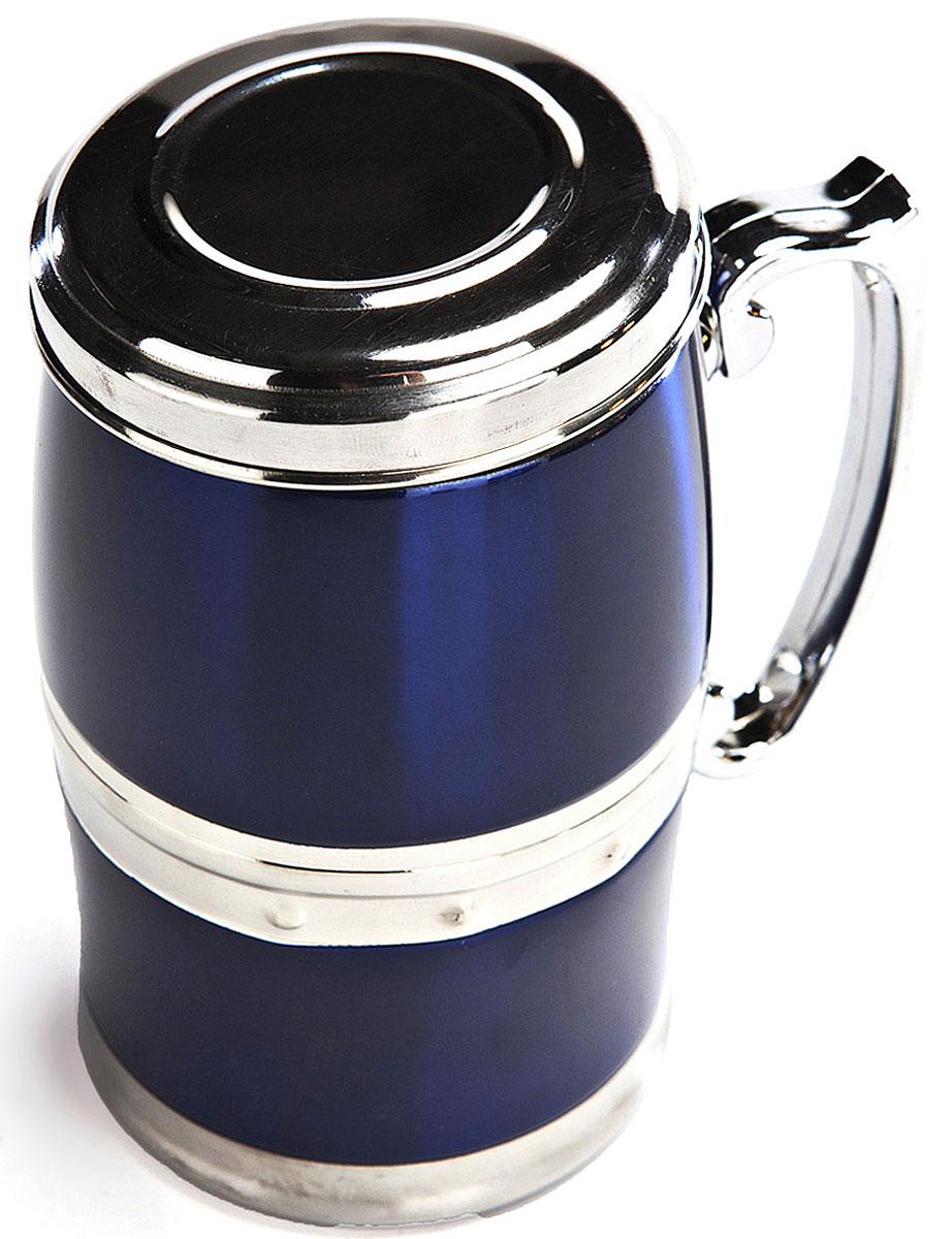 """Кружка магнитная Bradex """"Живая вода"""", цвет: синий, 350 мл"""