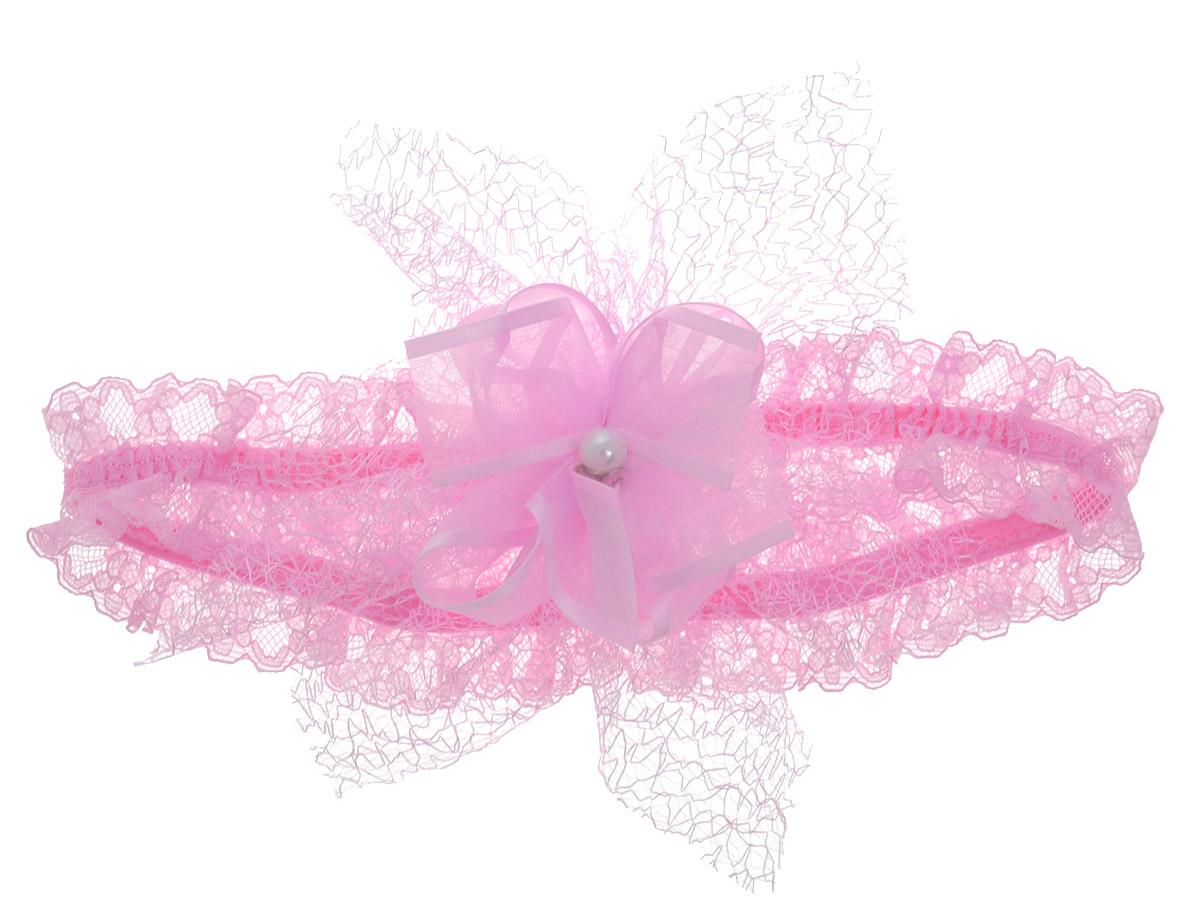 Babys Joy Повязка для волос цвет розовый K 14K 14_розовый _1Повязка для волос Babys Joy имеет сетчатую структуру и дополнена текстильным цветком с пластиковым декоративным элементом в виде бусины в центре. Повязка хорошо тянется и позволит убрать непослушные волосы с лица, а также придать образу немного романтичности и очарования. Повязка для волос Babys Joy подчеркнет уникальность вашей маленькой модницы и станет прекрасным дополнением к ее неповторимому стилю.