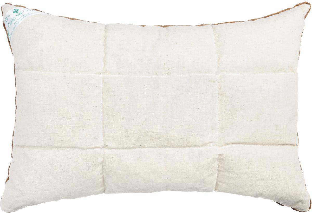 Подушка Smart Textile Уральская, наполнитель: пленка ядра кедрового ореха и искусственный лебяжий пух, 40 х 60 смЕ742Подушка Smart Textile Уральская подарит вам незабываемое чувство комфорта и умиротворения. Чехол выполнен из 100% хлопка, имеет окантовку и застежку-молнию, через которую удобно отсыпать наполнитель, если подушка вам покажется высокой или плотной. Подушка Smart Textile Уральская имеет два наполнителя, которые разделены на две не смешивающиеся секции. В одной секции подушки наполнитель из пленки ядра ореха сибирского кедра, а в другой лепестки лузги гречихи. Одна сторона подушки простегана. Кедровый аромат благотворно влияет на органы дыхания и обладает антибактериальными свойствами, благодаря фитонцидам - природным активным веществам в своем составе. Так же позволяет укреплять иммунную систему в целом, повышая сопротивляемость организма к простудным заболеваниям. Кедр славиться тем, что восстанавливает силы и энергетический баланс даже после непродолжительного отдыха на такой подушке, успокаивает нервную систему, помогает побороть бессонницу. Во время...