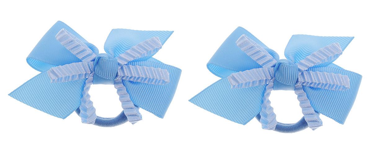 Baby's Joy Резинка для волос цвет голубой 2 шт VT 55