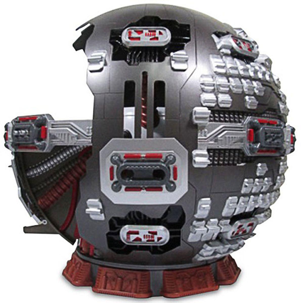 Черепашки Ниндзя Игровой набор Технодром89806Игровой набор 50-60 см в диаметре, различные функции, скрытые ловушки. Имеет потайной вход, потайной трап, потайную активируемую дверь, стреляет ракетами.