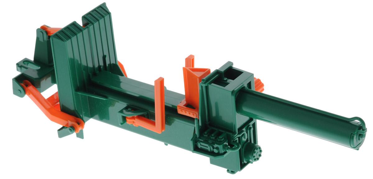 Bruder Игрушечный дровокол Posch02-339Игрушечный дровокол Bruder Posch, выполненный из прочного безопасного материала, отлично подойдет мальчику для различных игр. Станок выполнен в точной копии с реальной моделью в масштабе 1:16. В комплекте также имеется 4 полубревна. Станок можно разместить вертикально или горизонтально, а также прикрепить к трактору Bruder (продается отдельно). Бревна раскалываются при вращении специальной ручки сбоку. Порадуйте своего ребенка таким замечательным подарком!