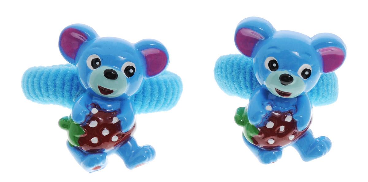 Babys Joy Резинка для волос Мышка цвет голубой 2 штVT 65_голубой,мышкаРезинка для волос Babys Joy Мышка - отличное дополнение к прическе вашей маленькой модницы. В набор входят две текстильные резинки, дополненные декоративным элементом в виде веселой мышки. Резиночки хорошо тянутся и прекрасно держат волосы.