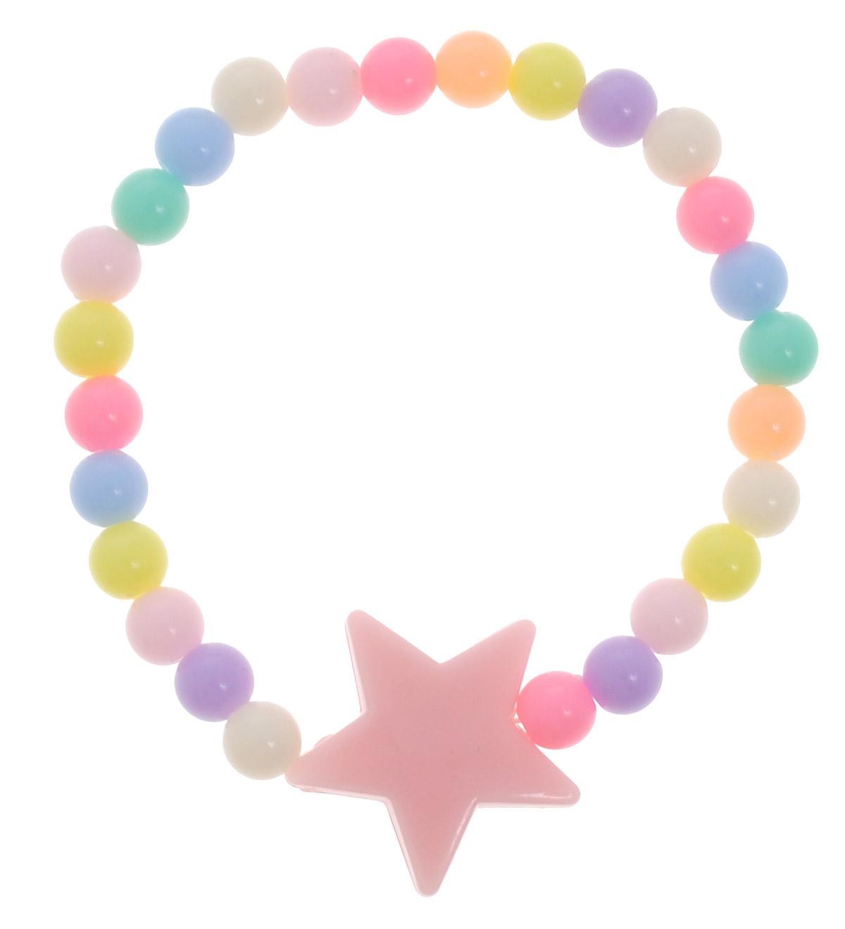Baby\'s Joy Резинка для волос Звездочка цвет светло-розовый ( VT 303_Звездочка-светло-розовый )