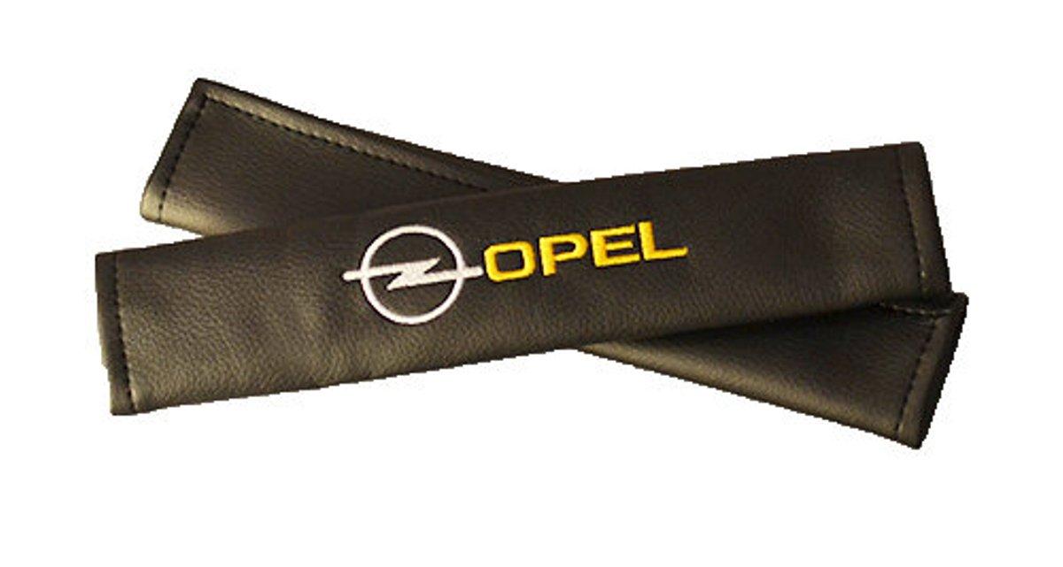 Накладки на ремень безопасности Auto Premium OPEL, 2 шт67011Накладка на ремень безопасности легко закрепляется на ремне и решает ряд назойливых проблем: Ремень больше не натрет плечо, благодаря тому,что накладка сделана из мягкой экокожи и не мешает движению ремня. Накладка на ремень позволит защитить Вашу одежду от следов ремня безопасности. В жаркую погоду в местах соприкосновения с ремнем кожа не будет потеть, так как накладка выполнена из дышащего материала.