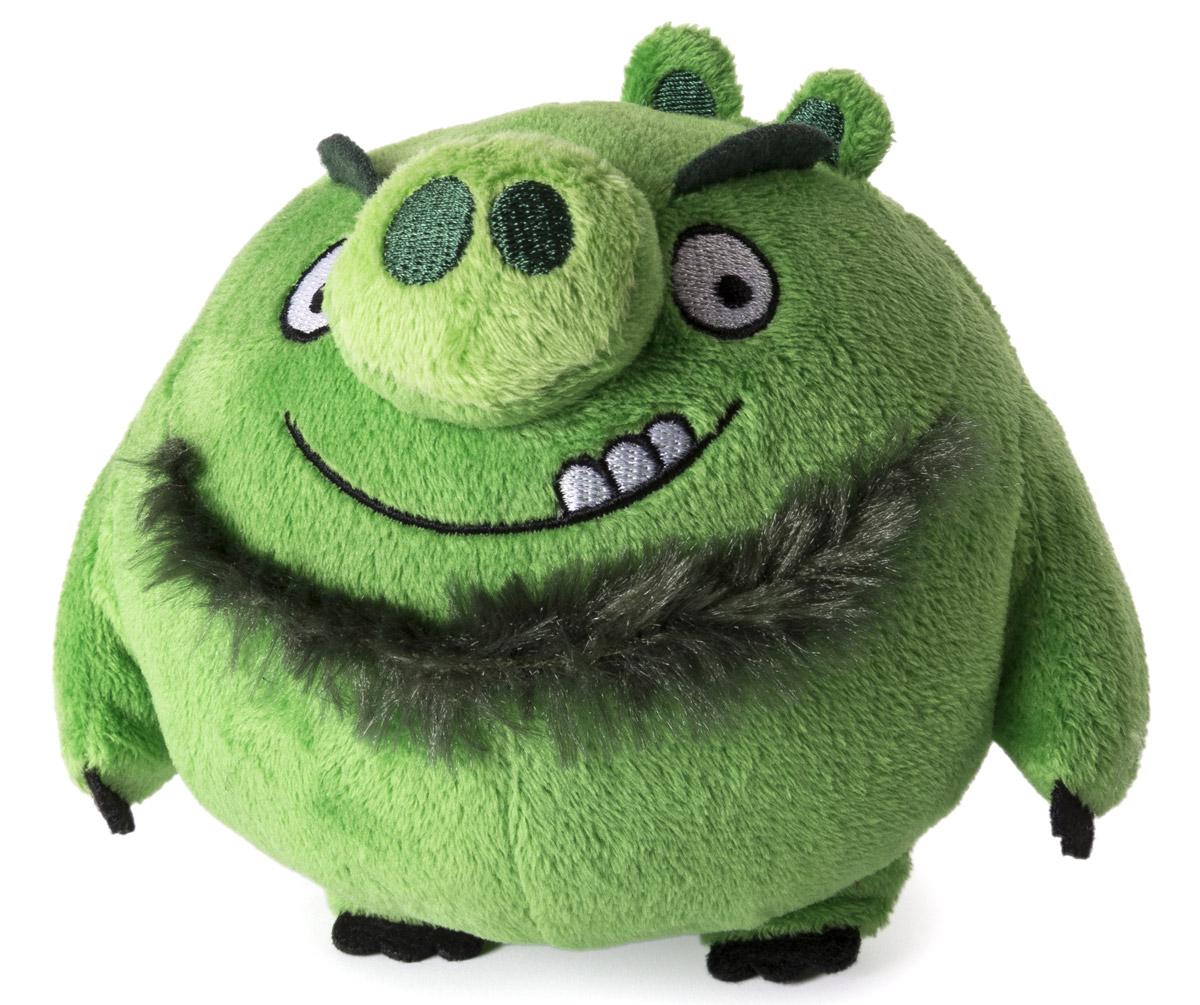 Angry Birds Мягкая игрушка Свинья с бородой 13 см90513_зеленый с бородойAngry Birds - одна из самых популярных игр на мобильных устройствах. Яркие и запоминающиеся персонажи этой аркады уже давно полюбились многочисленным фанатам. Невероятно приятная на ощупь игрушка выполнена в виде главного злодея и отрицательного персонажа игры - зеленой свинки. Игрушка выполнена из качественных и безопасных материалов. Свинка обязательно порадует вас и вашего малыша.