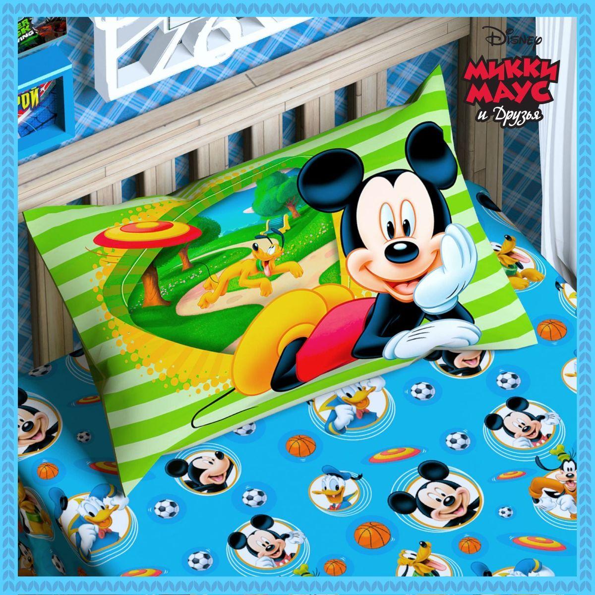 Disney Подушка панно Микки Маус и его друзья 50 х 70 1153111