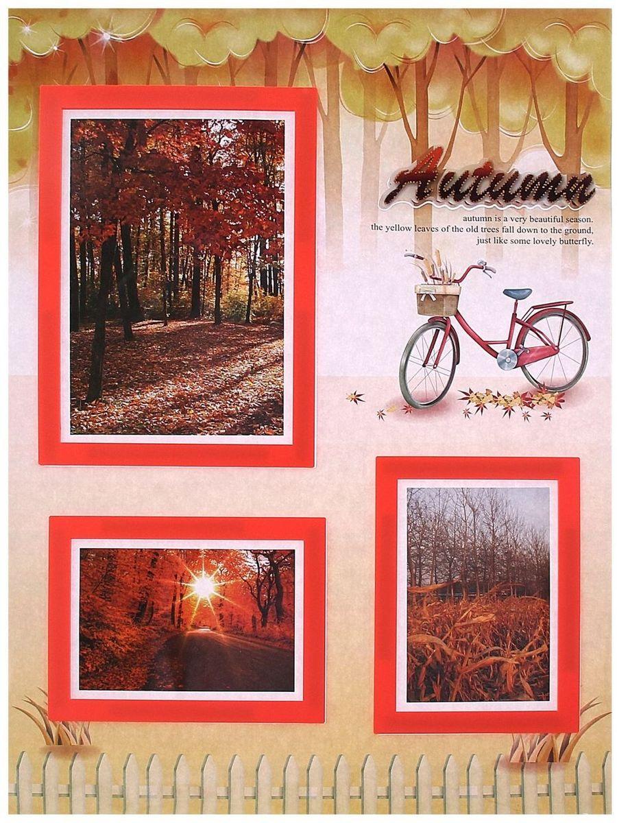Room Decor Наклейка-фоторамка интерьерная Осень на 3 фото