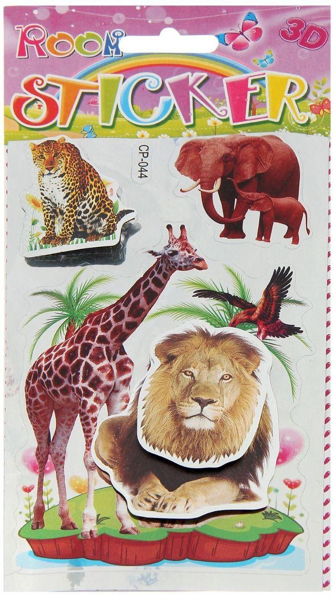 Наклейка интерьерная В мире животных 22 х 10,5 см ( 847634 )