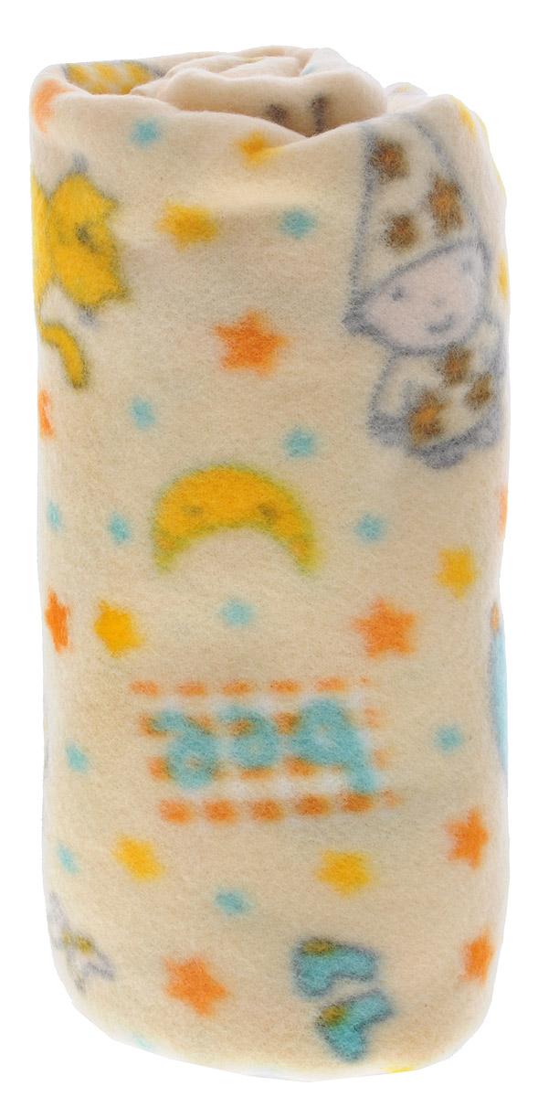 Споки Ноки Плед флисовый цвет бежевый голубой оранжевый 100 х 118 смF251004_желтыйМягкий плед для малышей Споки Ноки выполнен из флиса - теплого, легкого, долговечного трикотажного материала. Плед очень приятный на ощупь и обладает эффектом сухого тепла за счет высокого уровня вентиляции и малого коэффициента поглощения влаги. Подходит для прохладной погоды. Изделие не вызывает аллергии. Плед удобен в эксплуатации: легко стирается, быстро сохнет, не требует глажки и обладает антипиллинговым свойством. Детский плед Споки Ноки - лучший выбор родителей, которые хотят подарить ребенку ощущение комфорта и надежности уже с первых дней жизни. Уход: стирка в теплой воде (температура до 30 °C), нельзя выжимать и сушить в стиральной машине, химчистка запрещена, нельзя отбеливать, не гладить.