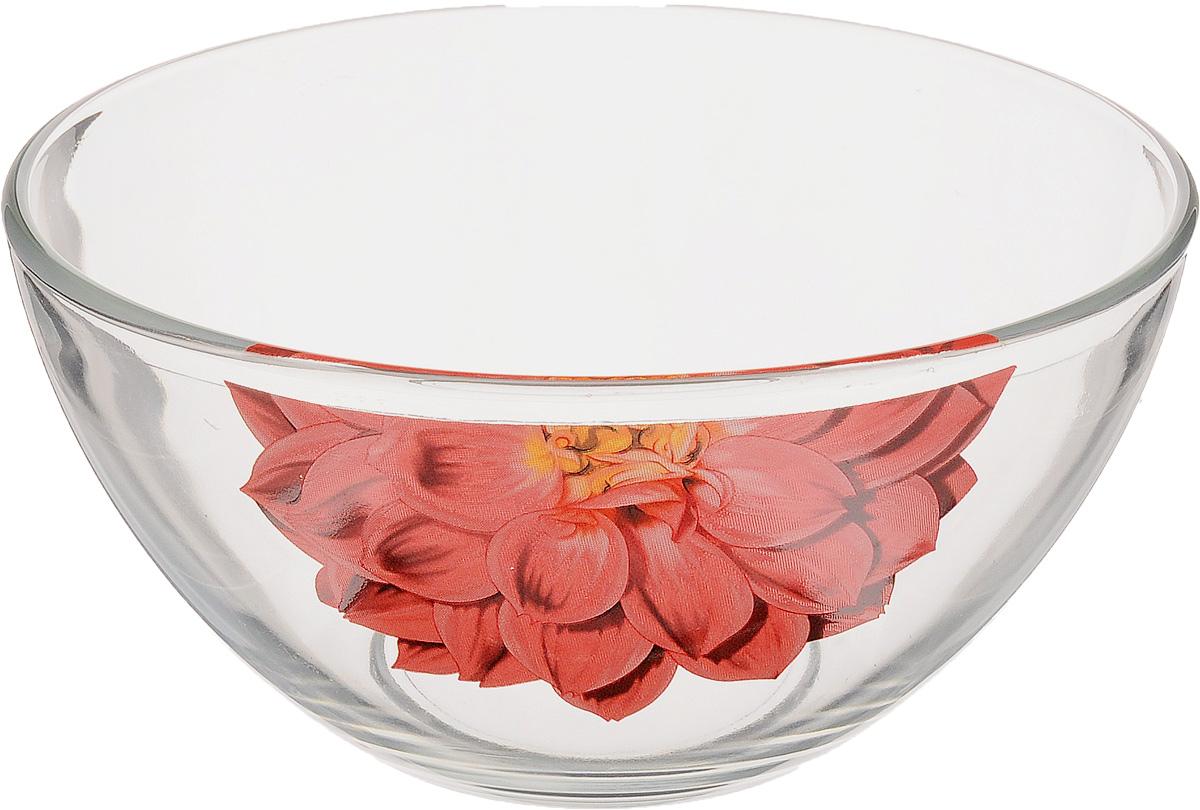 Салатник OSZ Георгин, цвет: красный, прозрачный, диаметр 15 см09с1425 Д3 ГЕОРГИНКРСалатник OSZ Георгин изготовлен из бесцветного стекла и украшен ярким рисунком. Идеально подходит для сервировки стола. Салатник не только украсит ваш кухонный стол и подчеркнет прекрасный вкус хозяйки, но и станет отличным подарком. Диаметр салатника (по верхнему краю): 15 см. Диаметр основания: 7 см. Высота салатника: 7,5 см.