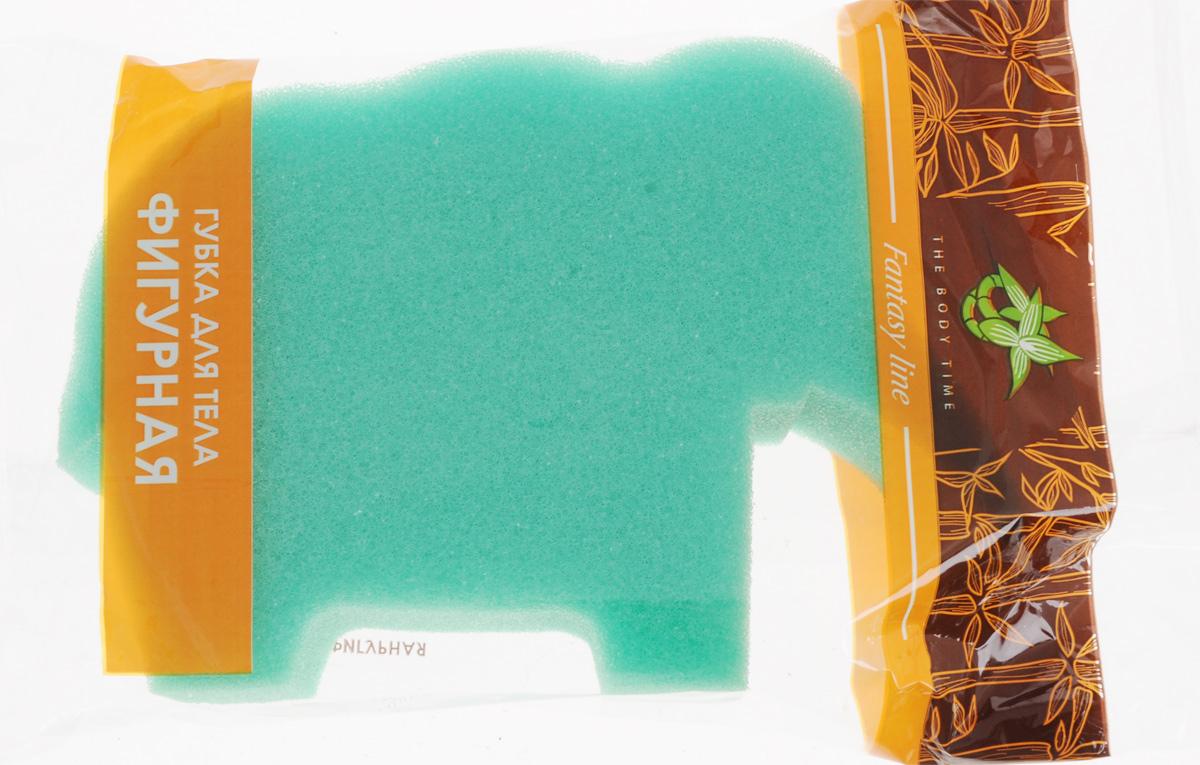 Губка для тела The Body Time Фигурная. Слон, цвет: зеленый, 15 х 10 х 4 см66646_зеленый, слонГубка для тела The Body Time Фигурная. Слон изготовлена из мягкого поролона. Подходит для нежной и чувствительной кожи. Идеально очищает и массирует кожу во время мытья, улучшая кровообращение и повышая тонус. Пористая структура губки создает воздушную пену даже при небольшом количестве геля для душа.