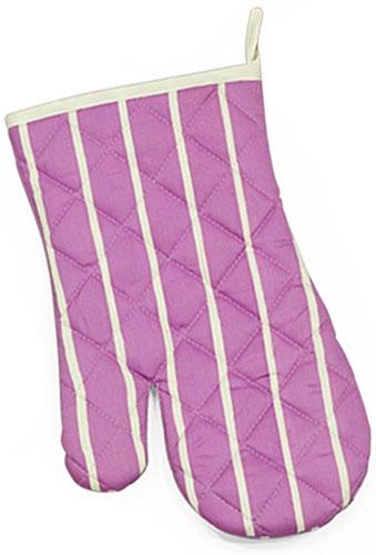 Варежка-прихватка Soavita Сирень, цвет: сиреневый, 17 х 28 см49151Перед использованием постирать при температуре не выше 40 градусов
