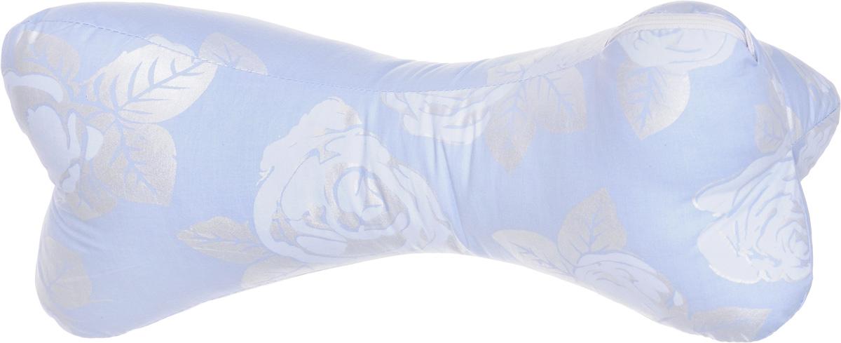 Подушка-валик Smart Textile Косточка, наполнитель: бамбуковое волокно, 28 х 43 смС534Подушка-валик Smart Textile Косточка с наполнителем из бамбукового волокна - универсальное средство от болей в шее, в дороге и дома. Она обеспечивает комфортный отдых, поддерживает шею и голову, уменьшая нагрузку на шейный отдел позвоночника, восстанавливает мышечный тонус. Материал чехла подушки: тиковая ткань (х/б). Бамбуковое волокно - это экологически чистый наполнитель, не вызывающий аллергии. Обладает гигроскопичностью (хорошо впитывает влагу и быстро ее испаряет), не накапливает пыль и запахи, остается свежим, хорошо вентилируется. Рекомендации по уходу: Обычная стирка при температуре воды до 40°. Отбеливание и глажка запрещены. Рекомендуется сушка на горизонтальной плоскости в тени. Разрешена обычная химчистка.