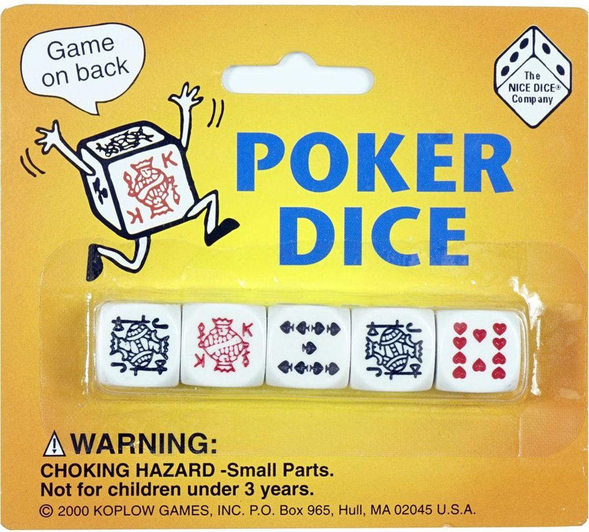 Настольная игра Покер на костях, 5шт.
